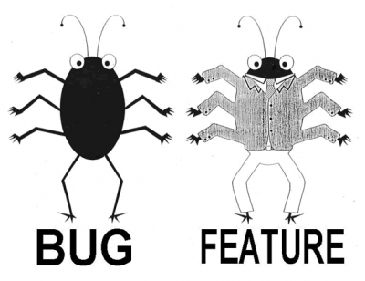 Bug vs. feature ;)