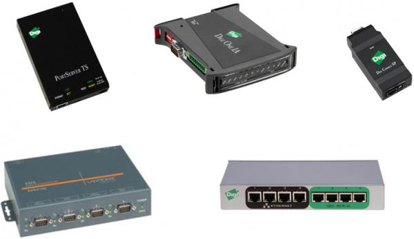 Przykładowe serwery portów szeregowych