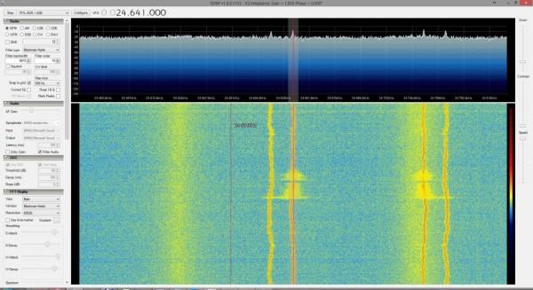 Podejrzana transmisja radiowa z notebooka HP