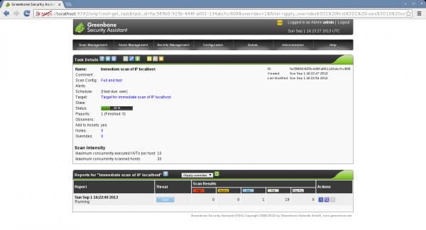 OpenVASscan