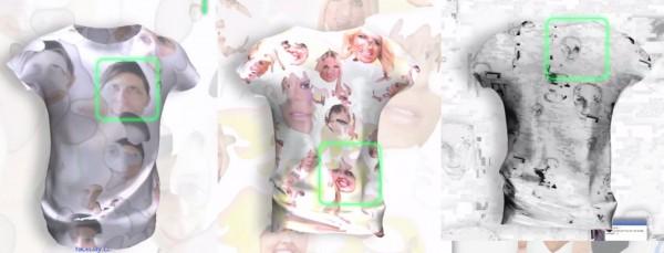 Koszulki do walki z automatycznym rozpoznawaniem twarzy