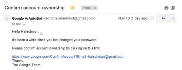 Phishing -- pierwszy etap ataku