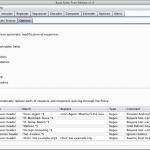 Burp Proxy - opcje do automatycznej modyfikacji ruchu