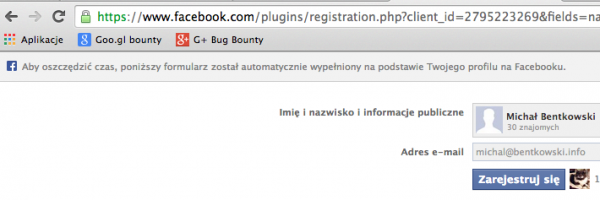 Registration Plugin