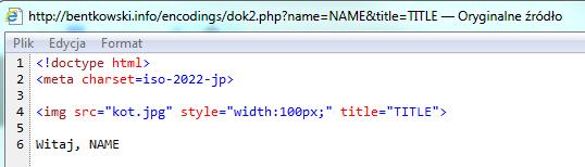 Źródło html dok2.pkp