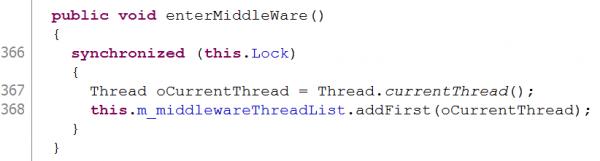 Metoda enterMiddleWare(), źródło: nccgroup.com