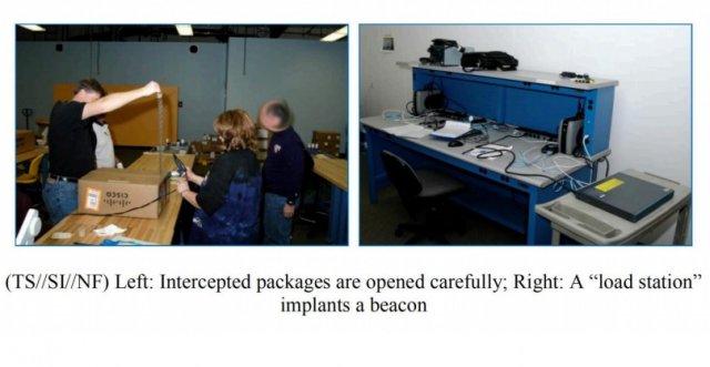 Implantowanie urządzenia backdorem by NSA (za Arstechnica)