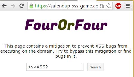 Rys 1. Wpisujemy prosty payload XSS-owy...