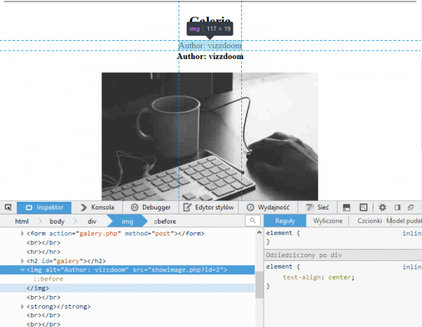 Interpretacja złośliwego pliku SVG w tagach <img src=x onerror=alert(1)>