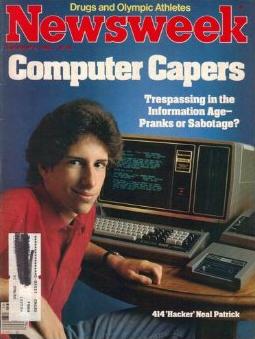 """Neal Patrick stał się celebrytą, a Newsweek po raz pierwszy używa słowa """"haker"""""""