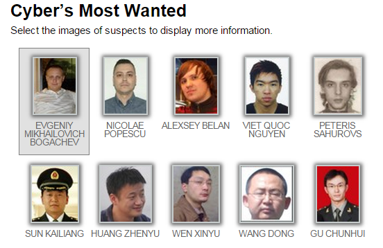 FBI — Cyber's Most Wanted