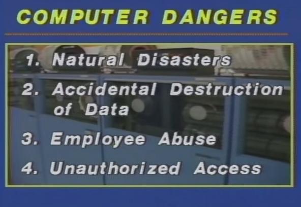 Zagrożenia dla systemów komputerowych niezwiązane z umyślnymi atakami