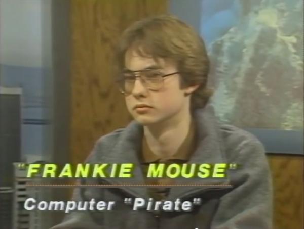 "Frankie Mouse -- młodociany ""pirat"""