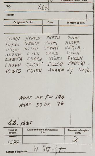 Wojskowy szyfrogram, który zainspirował powstanie 4YEO