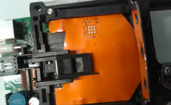 Shimmer zamontowany w bankomacie (źródło: krebsonsecurity.com)
