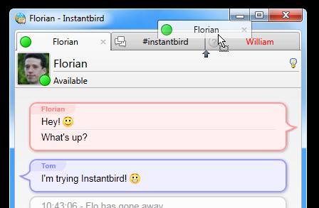 Tor Messenger został oparty na Instantbird
