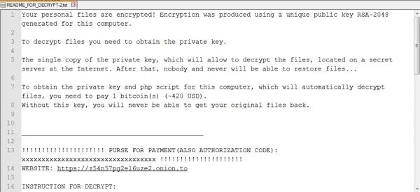 Linux.Encoder.1 żąda okupu...