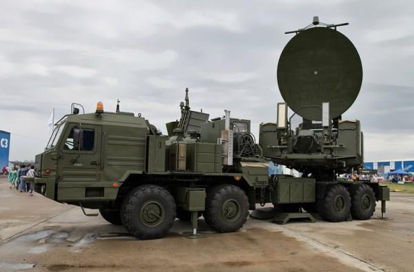 Krasukha -- rosyjski system walki elektronicznej