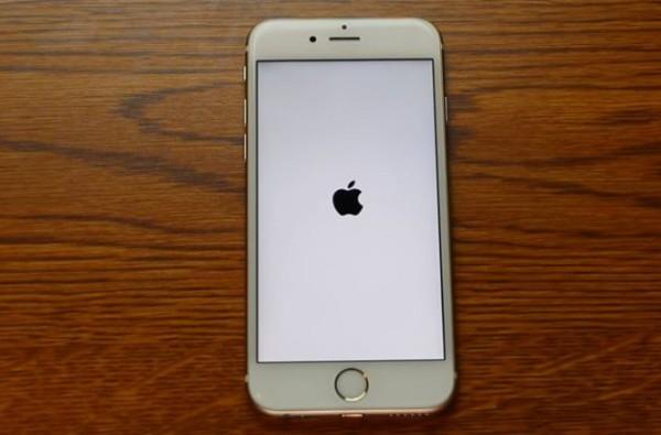 Unieruchomiony iPhone