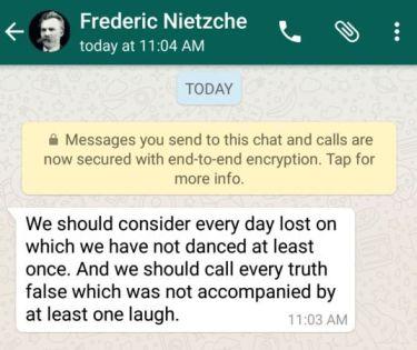 WhatsApp -- szyfrowanie end-to-end