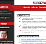 Szkolenia z bezpieczeństwa od sekuraka – max praktyki – raj dla programistów / testerów / pentesterów