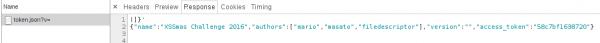 Rys 3. Dołączenie pliku token.json bez definiowanego kodowania