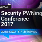 SECURITY PWNing CONFERENCE 2017