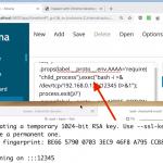 RCE w aplikacji opartej o Node.js (Kibana & Prototype Pollution & CVE-2019-7609)