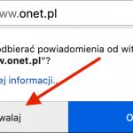 Firefox za chwilę domyślnie zablokuje spamowe popupy z powiadomieniami