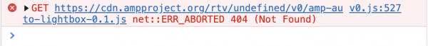 Rys 8. Błąd 404 podczas próby ładowa