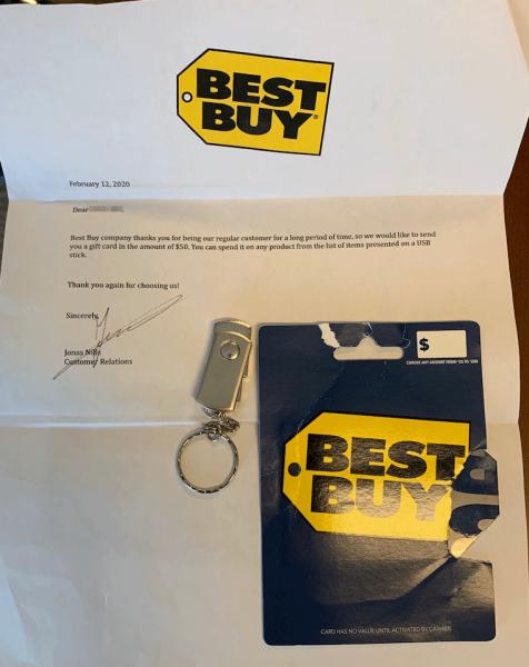 List otrzymany przez pracowników, źródło: https://www.trustwave.com/en-us/resources/blogs/spiderlabs-blog/would-you-exchange-your-security-for-a-gift-card/