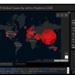Ta mapa aktywności koronawirusa zaraża nieprzyjemnym malwarem.