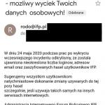 Wyciek danych z Internetowego Forum Policyjnego. Adresy e-mail, zahashowane hasła, loginy, …