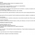 Kampania fałszywych maili (również po polsku) sugerujących dostęp do kamery / mikrofonu i żądających okupu w BTC