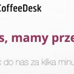 """Coffeedesk: """"osoba trzecia uzyskała dostęp do naszego serwera i znajdującym się na nim danych"""""""