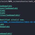 Kolekcjonowanie dowodów: recon a zrzuty ekranowe stron w sieci [OSINT hints]