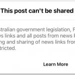 Facebook w proteście na nowe prawo zablokował w Australii możliwość oglądania i publikowania newsów