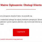 Kolejny phishing na klientów Home.pl
