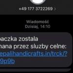 Ogromna kampania malware SMSowego (paczka zatrzymana przez służby celne) – uważajcie!