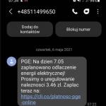 Masowe odłączenia prądu w Polsce. A, nie czekaj – to SMSowe oszustwo
