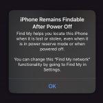 Można będzie namierzyć lokalizację iPhone… nawet jeśli jest wyłączony