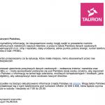 """Tauron: wyciekły nagrania rozmów """"z niektórymi klientami""""."""