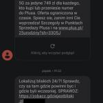 Nowa kampania SMS-owa perfekcyjnie podszywająca się pod Plusa? A może pomyłka operatora? Coś jednak nie wyszło…[aktualizacja]
